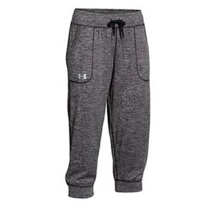 Under armour tech twist Capri joggers xs